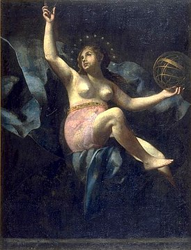 Urania, Muse of Astronomy by Giovanni Baglione.jpg