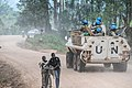Uruguyan Peacekeepers are ensuring the daily security of the Butembo - Kalunguta road axes August 2019.jpg