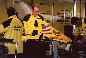 2001 United States Grand Prix - A tribute to the US by Jordan Grand Prix