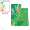 Utah population map.png