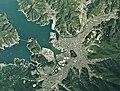 Uwajima city center area Aerial photograph.2019.jpg