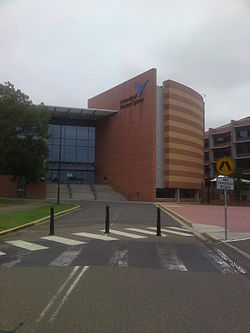 Building EA on Parramatta Campus
