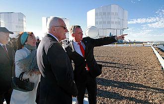 Václav Klaus - Václav Klaus visiting ESO's Paranal Observatory, Chile.