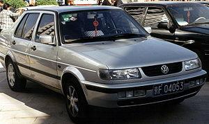 Volkswagen Jetta King - Image: VW Jetta Peking 2002Fram