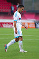 Valais Cup 2013 - OM-FC Porto 13-07-2013 - Explusion de Jérémy Morel.jpg