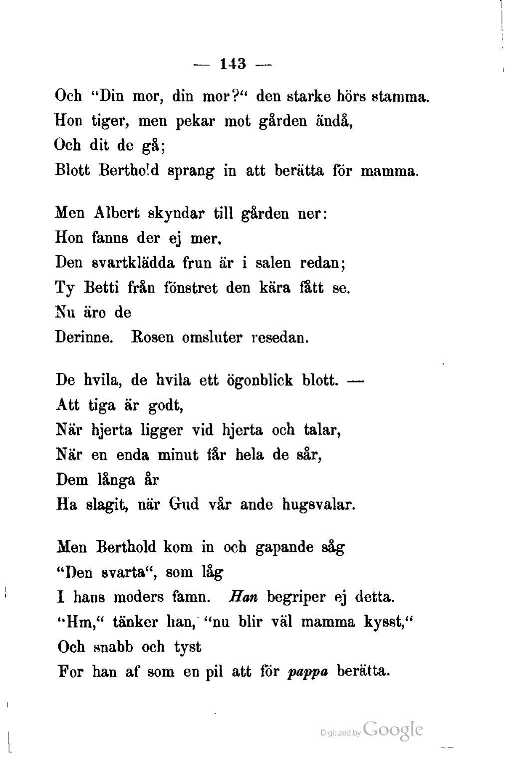 dikt om mamma