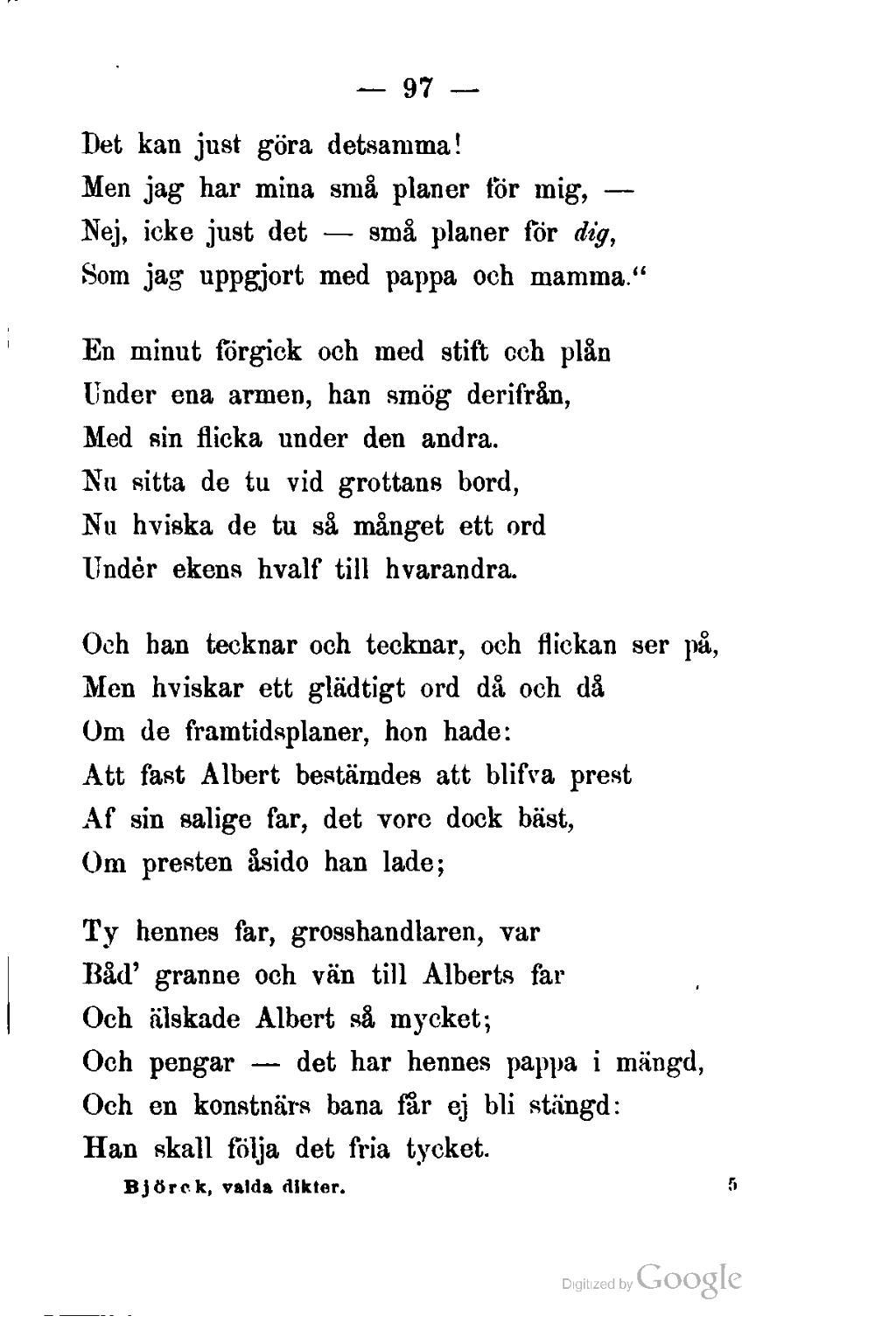 dikt till pappa