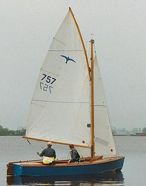Gunter - Voile houari, gunter lug, gunter sail, sliding sail