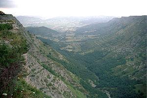 Delika Canyon - Image: Valle delica