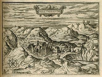 Qalunya - Qalunya noted on 1587 print by Jean Zuallart