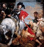 Van Dyck, Anthony - St Martin Dividing his Cloak - 1620-1621.JPG