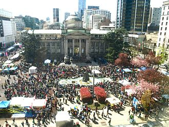420 (cannabis culture) - Vancouver, April 20, 2012
