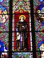 Vannes - cathédrale, vitrail de saint Yves (2).JPG