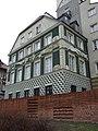Varšava, Śródmieście, ulice Nowomjeska, historický dům.JPG