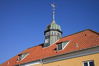 Slusen, Copenhagen - The roof of the main building