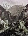 Veduta storica del 1860 tra Chiusa e Campodazzo.jpg