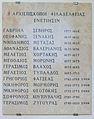 Venezia - San Giorgio dei Greci - list of priests 01.JPG