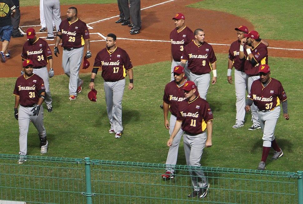 Venezuela national baseball team on November 7, 2015