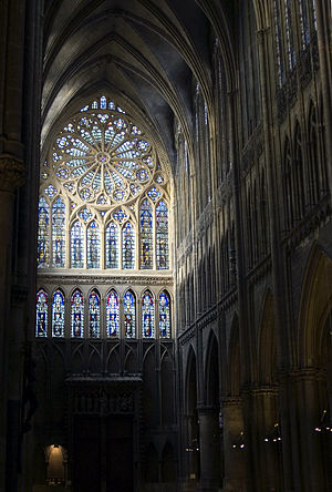 Hermann von Münster - Western rose window (14th century), Metz cathedral