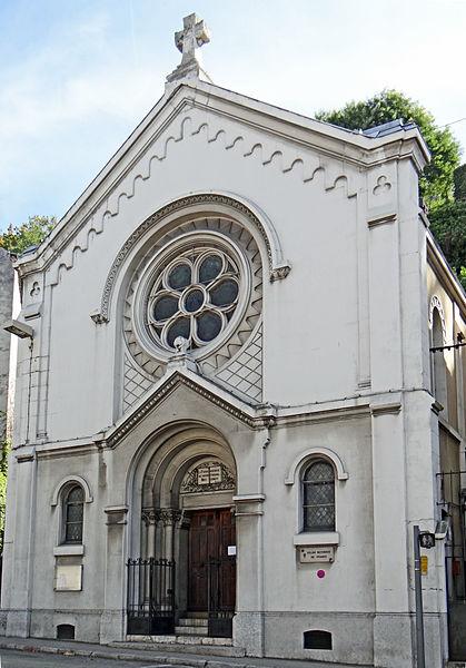 File:Vienne - Temple de l'église réformée, 47 rue Victor Hugo -1.JPG Фотографии Вьена - достопримечательности Вьена в картинках, что посмотреть во Вьене, виды Вьена