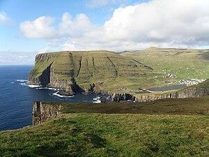 Vágur - View from Eggjarnar
