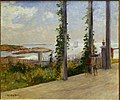 View from Celia Thaxter's Veranda, Appledore, Isles of Shoals, by John Appleton Brown, c. 1880, oil on canvas - Currier Museum of Art - Manchester, NH - DSC07439.jpg