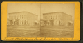 View of Ist National Bank, east side. Waterloo, Iowa, from Robert N. Dennis collection of stereoscopic views.png