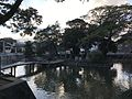 View of Itsukushima Shrine in pond of Sumiyoshi Shrine.jpg