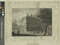 View of the old city hall, Wall St. In which Washington was innaugurated first president of the U.S. Apl. 30, 1789 (NYPL Hades-1784726-1650648).tiff