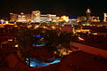 Views from the Rio All Suit Hotel, Las Vegas at night (8073620711).jpg