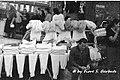 Viggiano (PZ), 1972, Festa della Madonna di Viggiano- mercato locale di lana grezza, mutandoni e maglie di lana. (4410748589).jpg