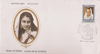 Rajmata - Vijaya Raje Scindia of Gwalior