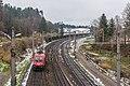Villach Warmbad Rudolfsbahn IV ÖBB 1116 TAURUS-Lok 22112018 5468.jpg