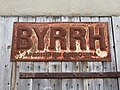 Villard-sur-Bienne - Ancienne publicité Byrrh (juil 2018).jpg