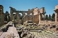 Ville de Cyrène en Libye . Temple de Zeus intérieur.jpg