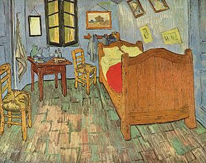 El dormitorio en Arlés - Wikipedia, la enciclopedia libre