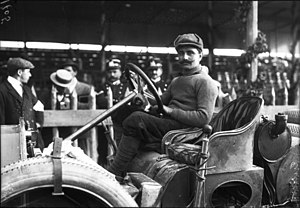 Vincenzo Trucco - Trucco winner of 1908 Targa Florio with Isotta Fraschini-type I.