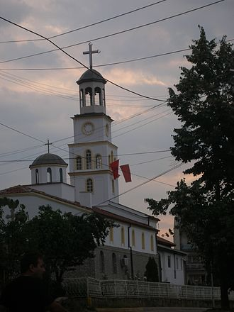 Vinica, North Macedonia - Town church in old part of Vinica