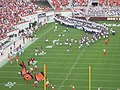 Virginia Tech Hokies take the field 2004 WMU.jpg