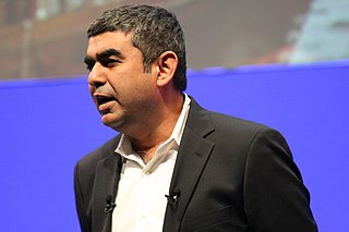 Vishal Sikka Chief Technology officer