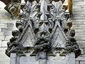 Vitré (35) Église Notre-Dame Façade sud 2ème contrefort 02.JPG