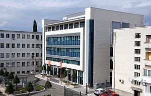 Government of Montenegro - The Government building in Podgorica