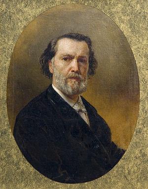 Vladimir Osipovich Sherwood - Vladimir Sherwood Self-portrait