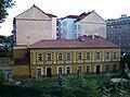 Vršovice vila Jitřenka, z ulice Pod stupni.jpg