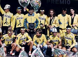 Once in de Ronde van Spanje 1991