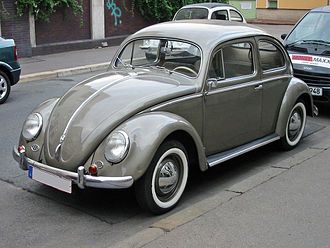 Car of the Century - 4th place: Volkswagen Beetle