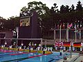 WDSC2007 Day4 Awards M200IndividualMedley FlagRaising.jpg
