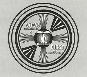 "WEWS-TV - WEWS' test pattern famously declared it to be the ""FIRST in Cleveland."""
