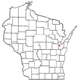 Vị trí trong Quận Brown, Wisconsin