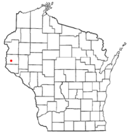Location of Warren, St. Croix County, Wisconsin